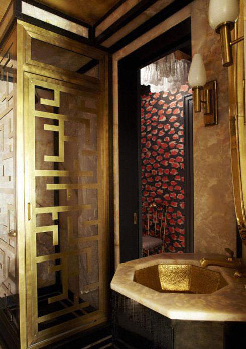 دکوراسیون حمام میهمان خانه کامرون دیاز Cameron Diaz