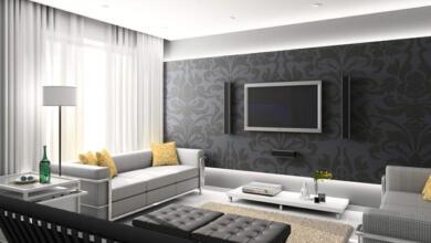 Photo of مدل دکوراسیون دیوار پشت تلویزیون شیک و زیبا + نصاویری از تزیینات شیک تی وی روم