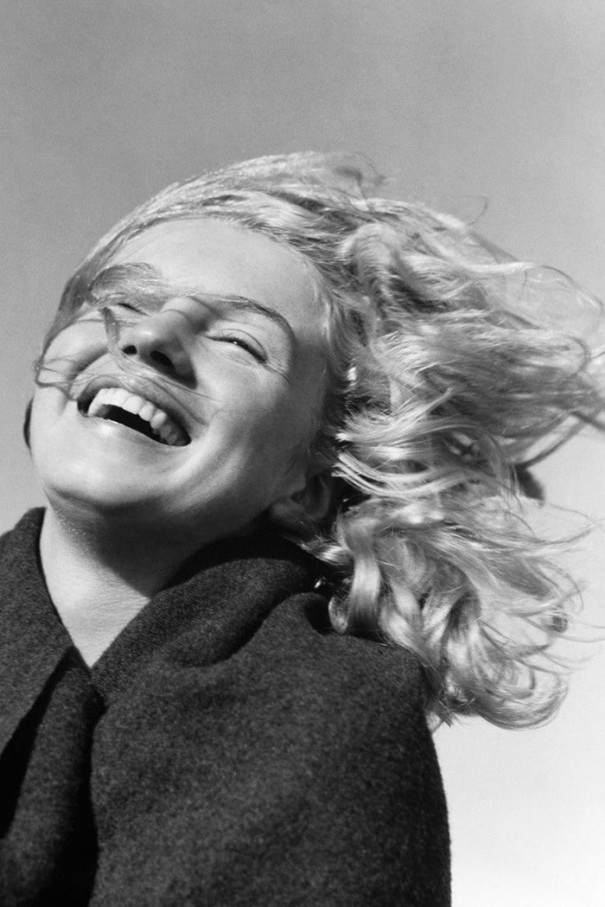 عکس های زیباترین بازیگر زن جهان مرلین مونرو در 20 سالگی