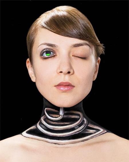 خاکوبی های سه بعدی خیره کننده و جالب