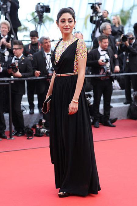 عکس مدل لباس گلشیفته فراهانی در جشنواره کن Cannes 2016