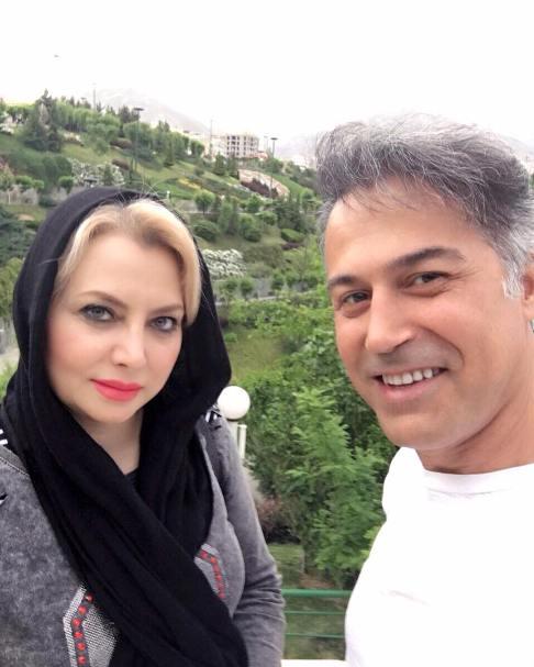 عکس دونفره دانیال حکیمی و همسرش