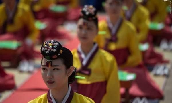 عکس های جشن بلوغ دختران کره جنوبی