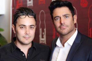 عکس محمدرضا گلزار و برادرش بردیا در رستوران انار