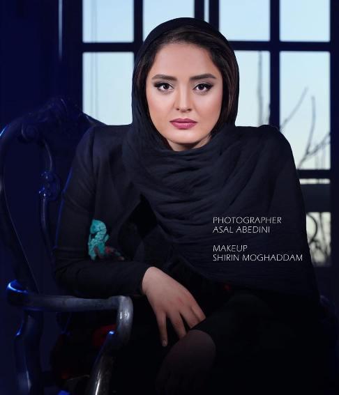 عکس های جذاب آتلیه ای نرگس محمدی