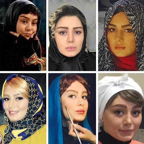 عکس های جذاب سحر قریشی با 6 چهره مختلف