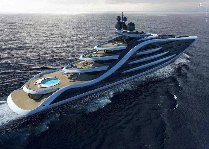 عکس های زیباترین و مجلل ترین قایق تفریحی