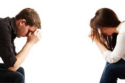 مشکل طلاق جنسی بین زن و شوهر