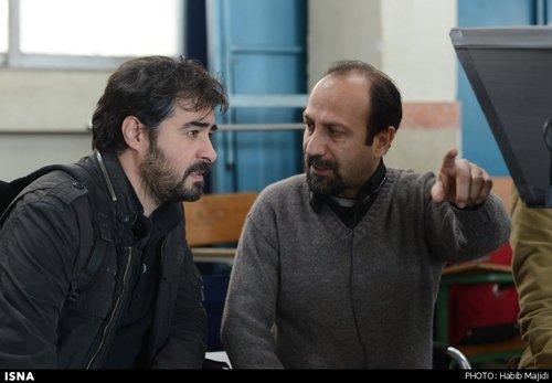عکس های ترانه علیدوستی و شهاب حسینی در فیلم فروشنده