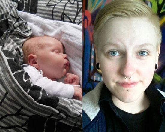 مردی که قبلا تغییر جنیست داده بود بچه زایید!