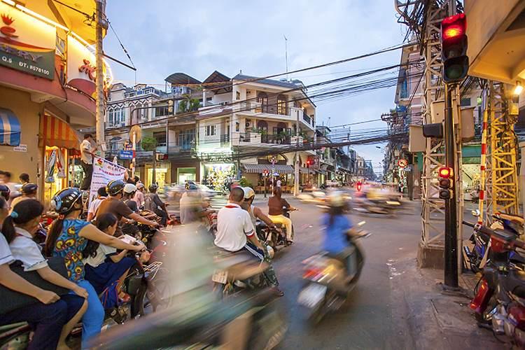 هو شی مین و هانوی-ویتنام