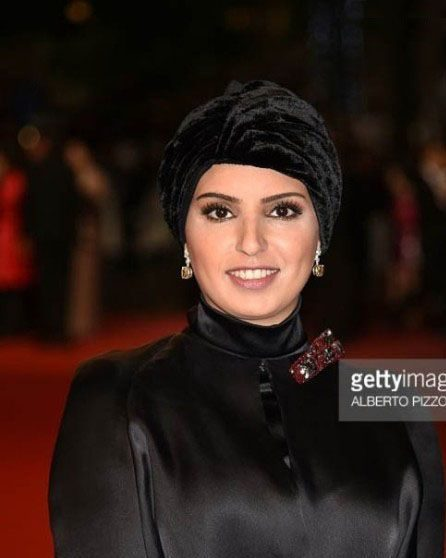زن زیبای عرب سرمایه گذار فیلم فروشنده است! +عکس