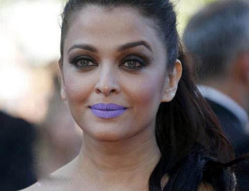 عکس از آیشواریا رای با مدل آرایش جنجالی در جشنواره کن!