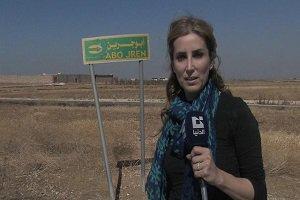 عکس های سلفی عجیب مجری زن با جسدهای داعشی