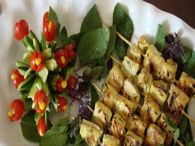 طرز تهیه ماهی کباب در پیک نیک و مسافرت