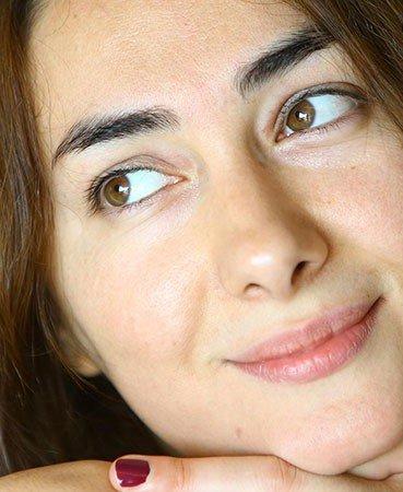 عکس های لو رفته چهره بدون آرایش هانیه توسلی!!