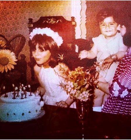 عکس هنگامه قاضیانی در جشن تولدش