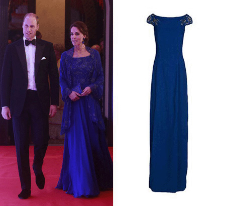 مدل لباس های کیت میدلتون Kate Middleton در هند