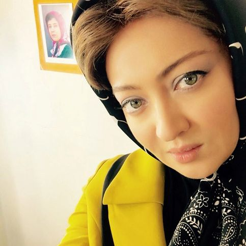 عکس چهره زیبای نیکی کریمی در تست گریم جدید