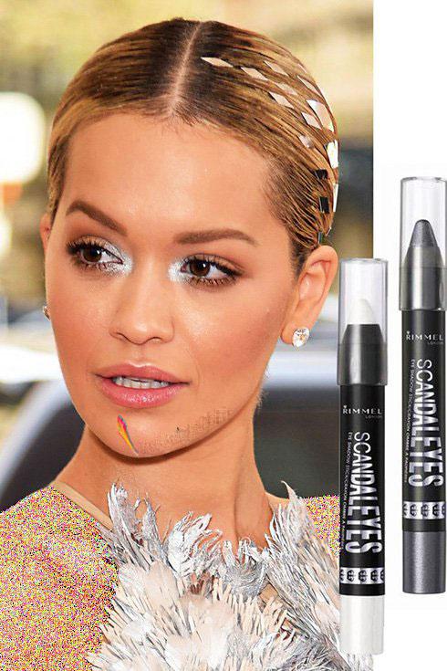 مدل آرایش ریتا اورا Rita Ora در مت گالا Met gala 2016