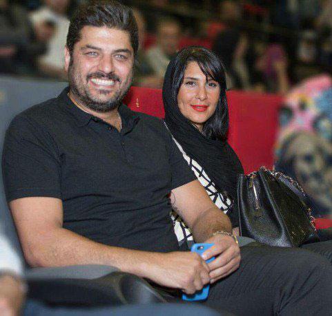 عکس سام درخشانی و همسرش