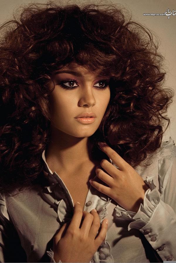 تصاویر شباهت سحر قریشی به مدل و مانکن زیبا