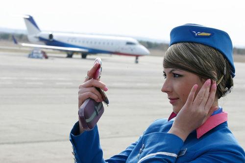 میهماندار زن هواپیمایی تاتارستان
