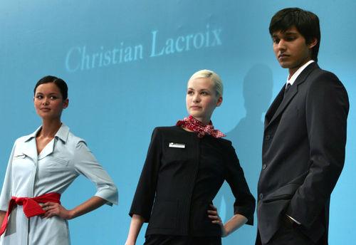 مهماندار زن هواپیمایی ایر فرانس
