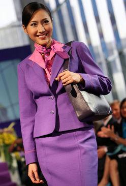 مهماندار زن هواپیمایی تایلند