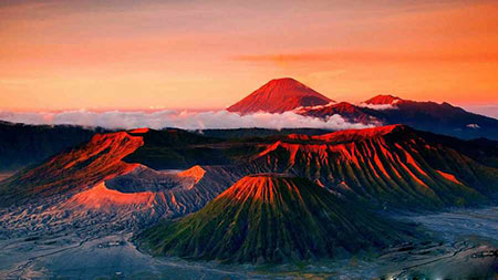 جاهای گردشگری و دیدنی اندونزی