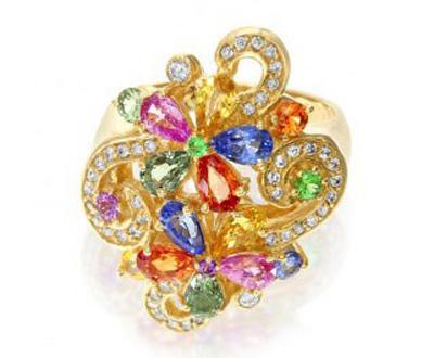 کلکسیون جواهرات و انگشتر