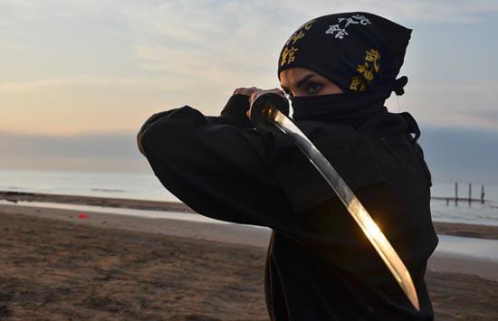 عکس های دختران سوپر نینجای ایرانی! (فیلم) Film - super ninja
