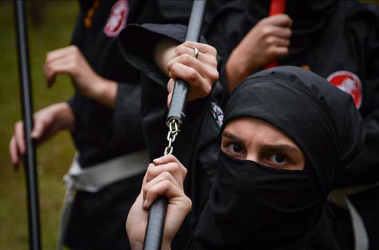 عکس های دختران سوپر نینجای ایرانی! (فیلم)