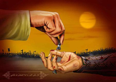 عکس حضرت علی (ع) و اس ام اس شهادت حضرت علی و اشعار