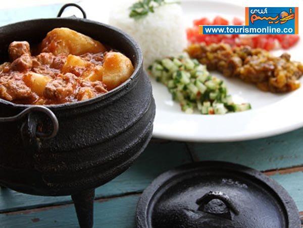 """""""پوتجکاس"""" غذای سنتی آفریقایی ها"""