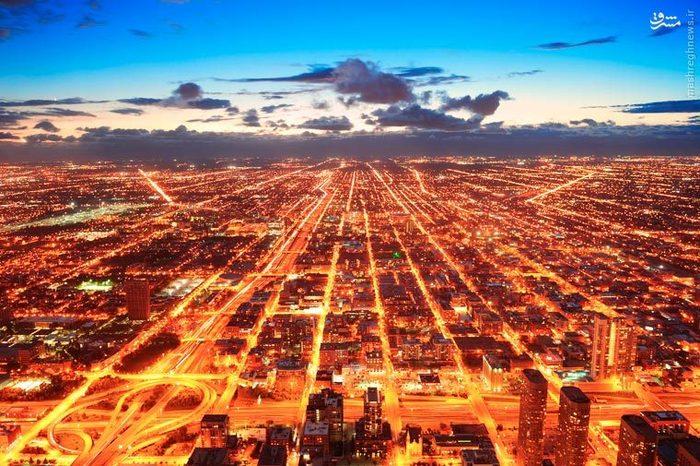 عکس های منظره های دیدنی شهری