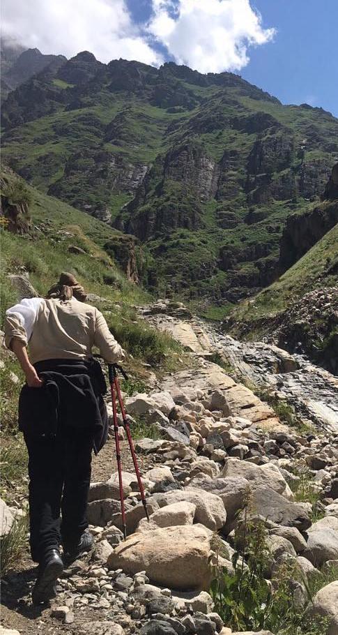 عکس هایی از تیپ کوهنوردی هدیه تهرانی