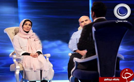 گریه پرستو صالحی در برنامه ماه عسل