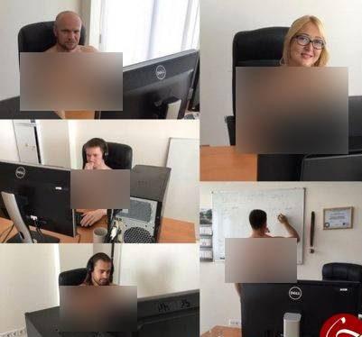 لخت شدن زن و مرد در محل کار به دستور رئیس جمهور بلاروس! (تصاویر)