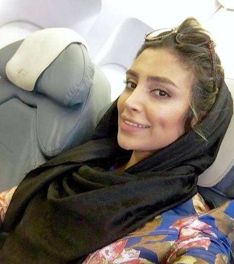"""عکس باور نکردنی از چهره بدون آرایش """"الهام عرب"""""""