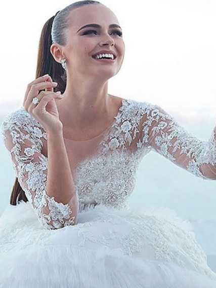 عکس های مراسم ازدواج با شکوه مدل زن 26 ساله با میلیونر 62 ساله!