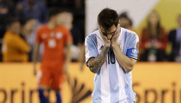 لیونل مسی از تیم ملی آرژانتین خداحافظی کرد