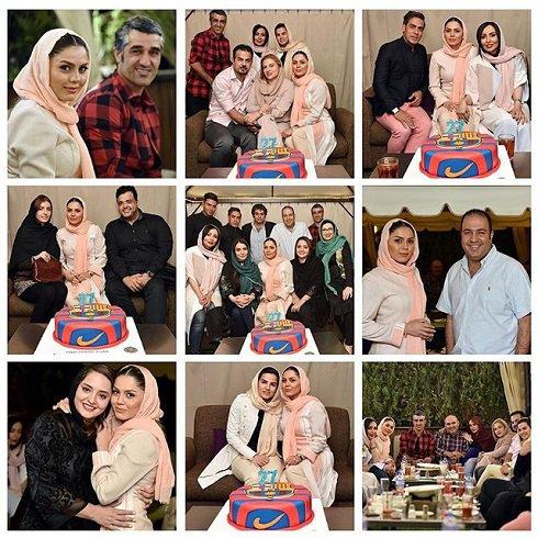 تصاویر جشن تولد آزاده زارعی