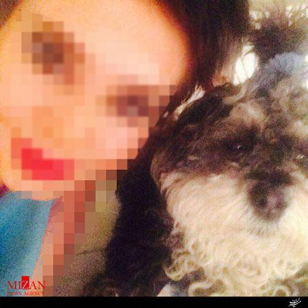 پلیس به دنبال دختر سگ آزار +عکس دختر روانی!