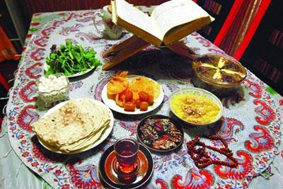 آداب و رسوم مردم همدان در ماه رمضان