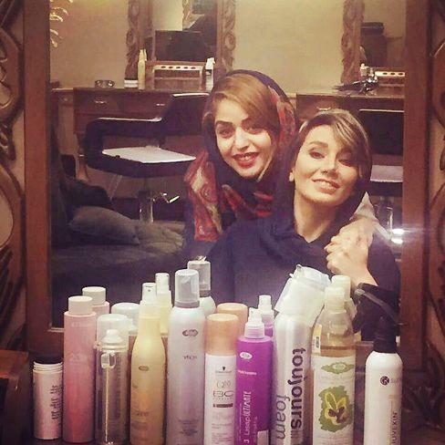 عکس جدید خاطره حاتمی در آرایشگاه
