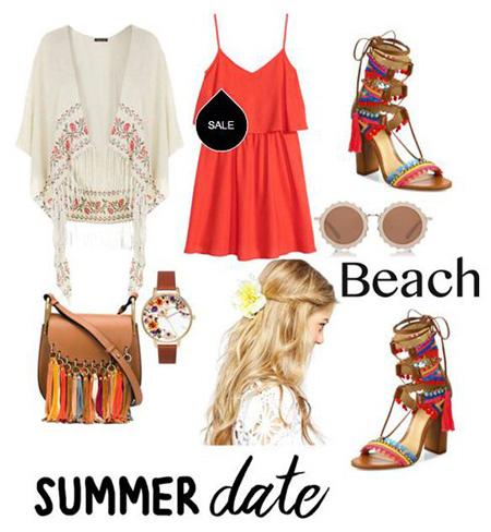 ست لباس های رنگی در تابستان