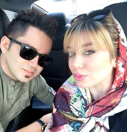 عکس دیده نشده شهنام شهابی در کنار همسرش