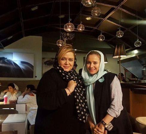 عکس جدید اینستاگرام الناز حبیبی در کنار بهاره رهنما