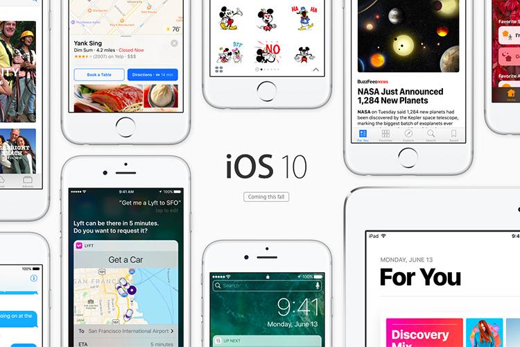 معرفی تمام ویژگی ها و مشخصات iOS 10